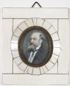 Portret van Stephan Christoph Klatte (1853-1937)