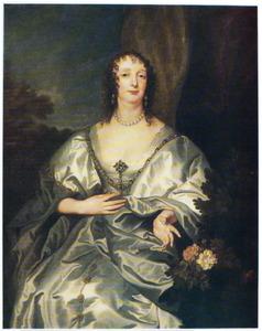 Portret van Charlotte de la Trémoïlle, Lady Strange, later Countess of Derby (1599-1664)