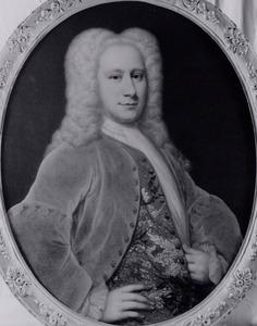 Portret van Simon van Steeland (1703-1780)