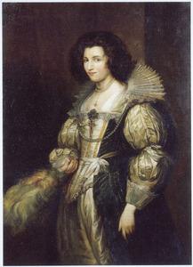 Portret van Maria Louis de Tassis (1611-1638)