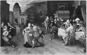 Het feest van Herodes en de dans van Salome