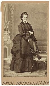 Portret van Maria Philippine Henriette Voet (1807-1872)