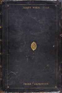 Tekenboek uit de eerste helft van de 17de eeuw; maten band: ca. 435 x 285 mm; op voorplat:  KONST BOECK VOOR / REYER CLAESSOON; inhoud: 100 bladen van 425 x 278 mm. = 50 eenmaal gevouwen folia in 25 katernen van 2 bladen, waarbij het binnenste blad steeds dubbelzijdig blauw is geprepareerd; watermerk: kromstaf in gekroond wapenschild.