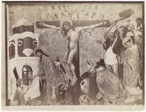 De kruisiging, de laatste communie en het martelaarschap van de H. Dionysius