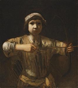 Ismaël de boogschutter, de oudste zoon van Abraham als jager (Genesis 21:20)