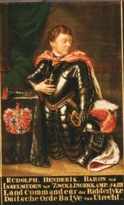 Portret van Roelof Hendrik baron van Isselmuden, heer van Zwollingerkwamp