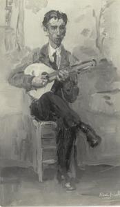 Spaanse mandolinespeler