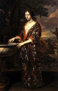 Portret van Anna Elisabeth van Reede (1652-1682)