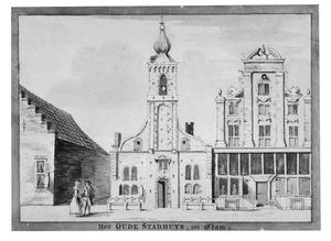 Het oude stadhuis in Edam