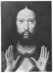 Christus, de wonden in zijn handen tonend