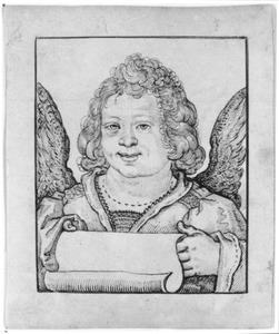 Engel met schriftrol