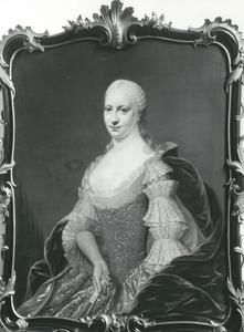 Portret van Susanna Catharina Bors van Waveren (1730-1760), echtgenote van Jan Six