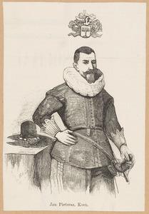 Portret van Jan Pietersz. Coen (1587-1625)