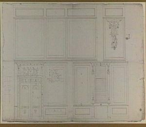 Twee ontwerpen voor wanddecoraties