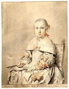 Portret van waarschijnlijk Lucia van Teffelen