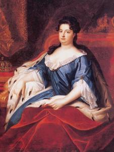 Portret van Sophie Charlotte van Hannover (1668-1705), koningin van Pruisen