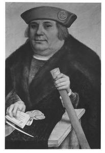 Portret van Franz von Taxis