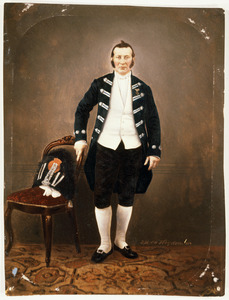 Portret van Willem Arnold Frederik Koopman (1815-1866)