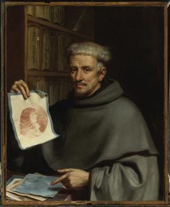 Portret van Fra Bonaventura Bisi, 'Il Pittorino'