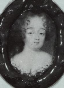 Portret van Charlotte Amelie de la Tremoille (1652-1732)