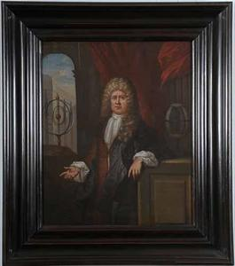 Portret van Johannes Jensius (1671-1755)