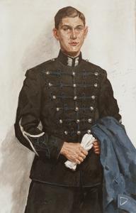 Portret van Frank Wolfaert Boudewijn van Lynden (1918- )