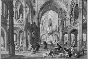 Christus verjaagt de kooplieden uit de tempel