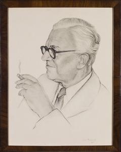 Portret van Nicolaas Willem Conijn (1887-1955)