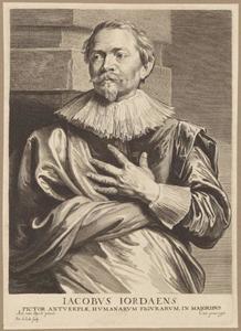 Portret van Jacob Jordaens (1593-1678)