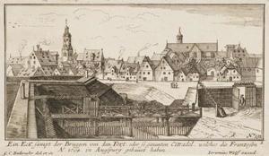 Gezicht op Augsburg