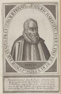 Portret van Jean Grusset Richardot (1540-1609)
