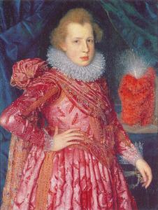 Portret van prins Christiaan van Denemarken (1603-1647)