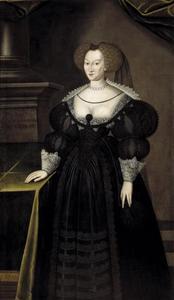 Portret van prinses Maria Eleonora van Brandenburg (1599-1655), koningin van Zweden