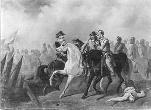 Graaf Hendrik Casimir van Nassau sneuvelt voor Hulst. Anno 1640
