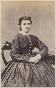 Portret van een dochter van Emanuel Jochim (1799-1885) en Maria van Ree (1809-...)