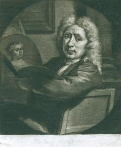 Portret van Jan Verkolje I (1650-1693)