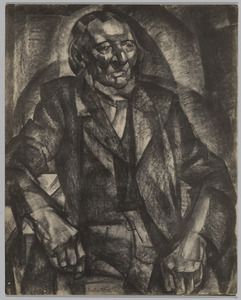 Portret van een oude man, Bergen