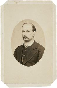 Portret van G.F.A. van der Goes