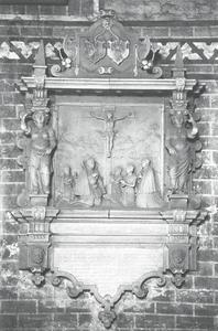 Epitaaf van de goudsmid Hans Krüger (1530-1578)
