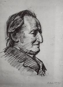 Portret van Berend van Calcar (1820-....)