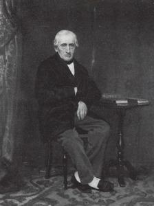 Portret van Abraham Leonard van Woerden (1809-1869)