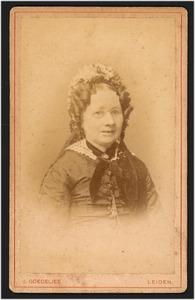 Portret van Aaltje Bosch (1809-1886)