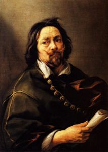 Zelfportret van Jacob Jordaens I (1593-1678)