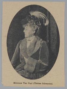 Portret van Mevrouw van Duyl (Thérèse Schwartze)