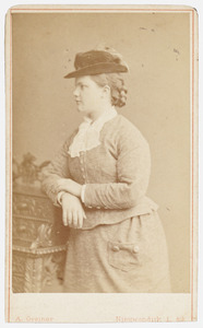 Portret van Jacoba Margaretha de Pesters (1861-1925)