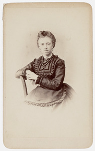 Portret van Woltera Christina van der Wyck (1895- )