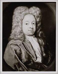 Portret van Lambert Henric Emmen (1696-1763)