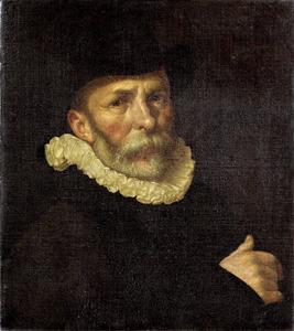 Portret  van de schilder Dirck Barendsz (1534-1592)