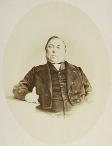 Portret van Reinier Cornelis Bakhuizen van den Brink (1810-1865)