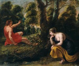 Cephalus en Procris (Ovidius, metamorfosen, VII, 835-841)